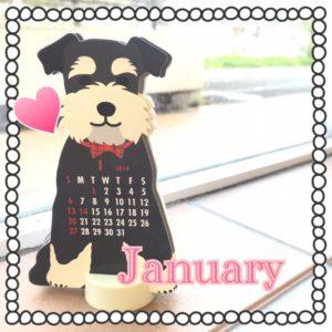1月のシフト